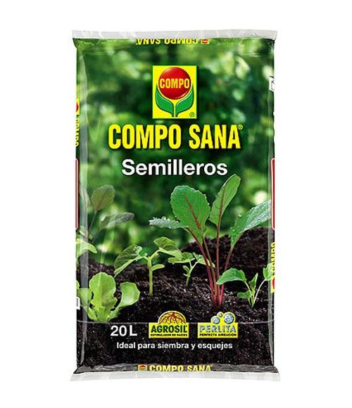 Sustrato compo semilleros 20l ref 10917284 leroy merlin - Tierra para semilleros ...