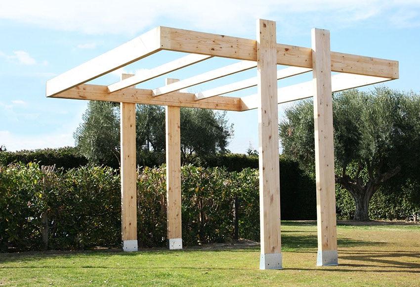 Pergolas de madera para jardin full size of pergola for Carpas jardin leroy merlin