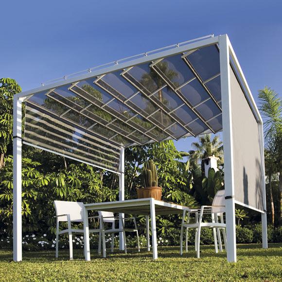 P rgola de acero tijuana ref 012602 17805753 leroy merlin - Leroy merlin carpas jardin ...