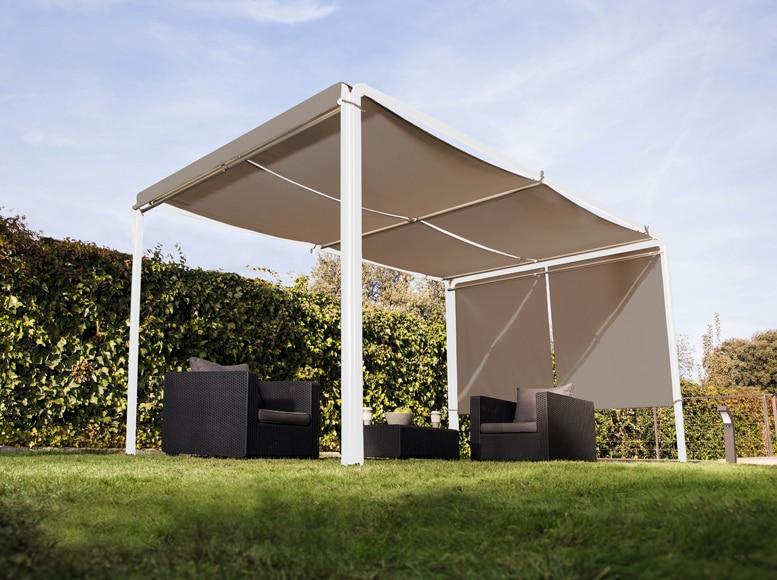 Pérgola De Aluminio Ibiza Blanco 3x4 Topo Ref 81950735