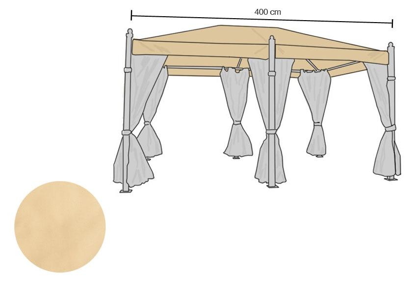 Lona pergola 4 3 materiales de construcci n para la for Repuestos para toldos
