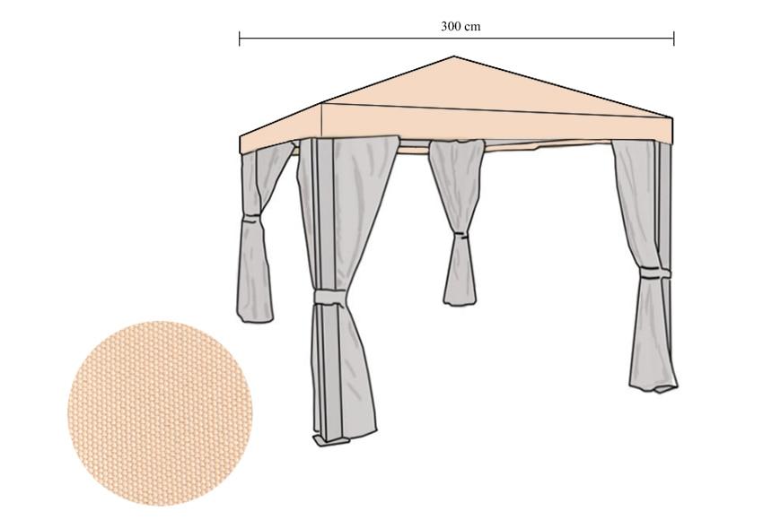 Recambio toldo para pergola 3 3 materiales de for Recambios de telas para toldos