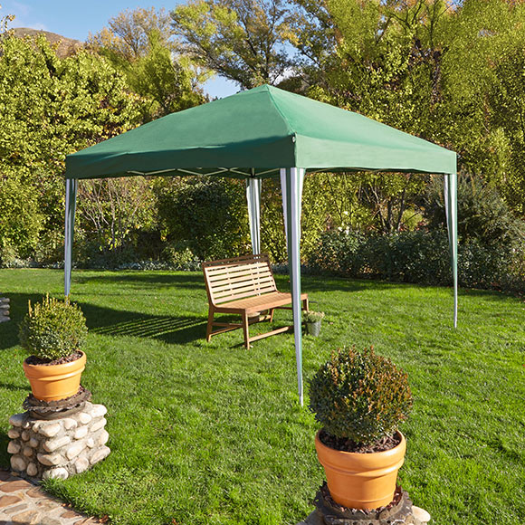 Gazebo plegable extensible 3x3 ref 16563610 leroy merlin for Gazebo pieghevole leroy merlin