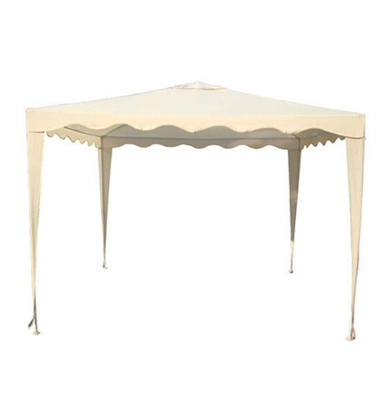 Gazebo crudo 3x3 ref 19510995 leroy merlin for Carpas jardin carrefour