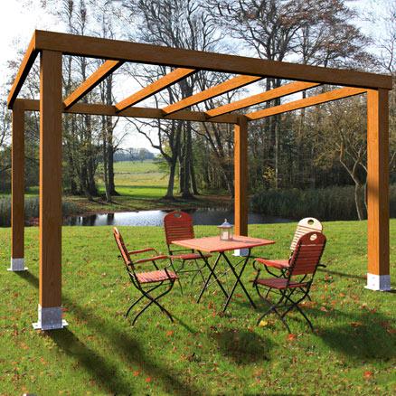 P rgolas de madera a medida leroy merlin - Leroy merlin carpas jardin ...