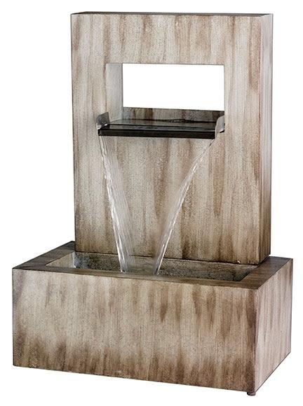 Fuente decorativa zinc pared ref 19432966 leroy merlin - Fuentes para jardin leroy merlin ...