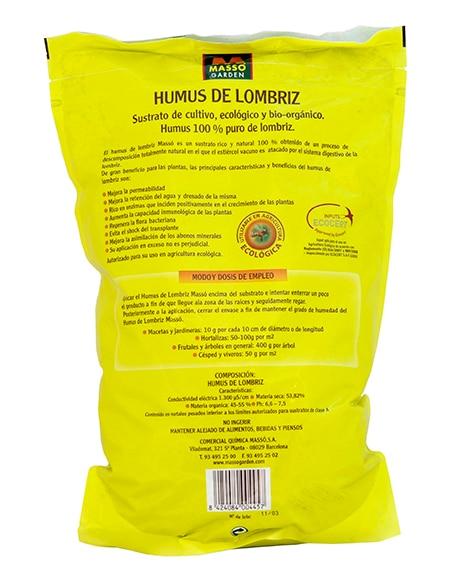 Humus Universal Orgánico Masso Liberación Lenta 3l Ref 14660282