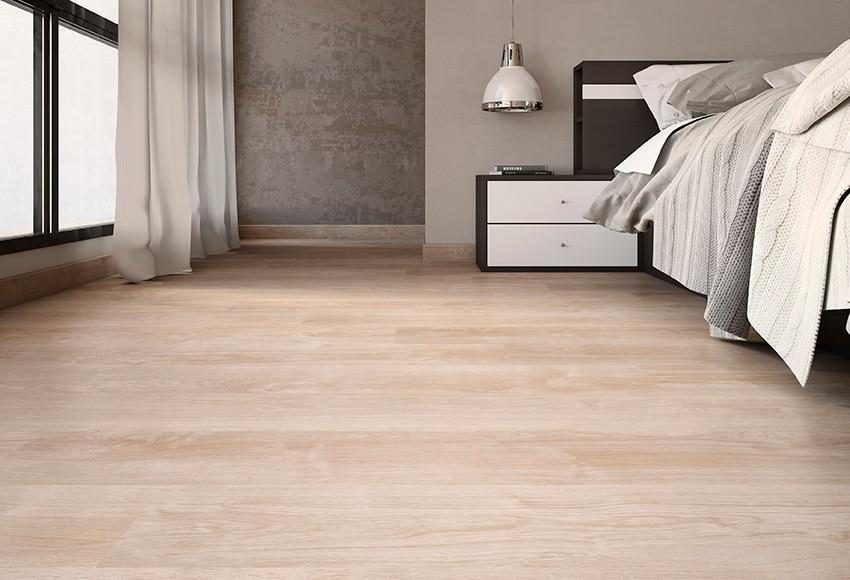 Suelo laminado aero roble beige ref 17358005 leroy merlin - Suelos laminados de madera ...