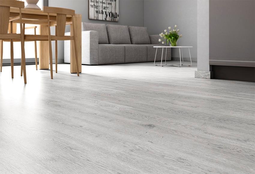 Suelo laminado premium frozen oak ref 17358824 leroy merlin - Tipos de suelos para pisos ...