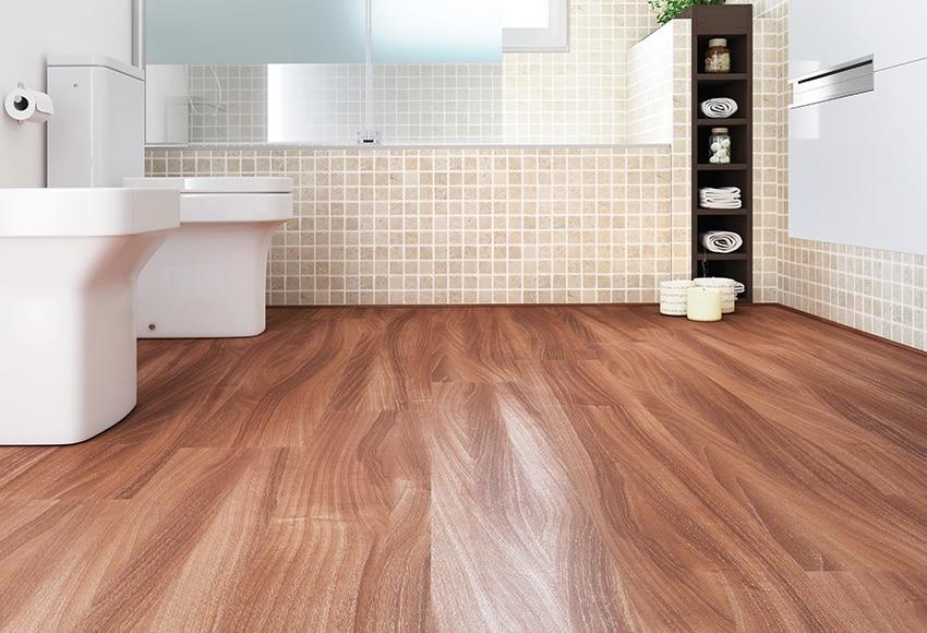 suelo laminado premium nogal natural ref 17359223 leroy merlin. Black Bedroom Furniture Sets. Home Design Ideas