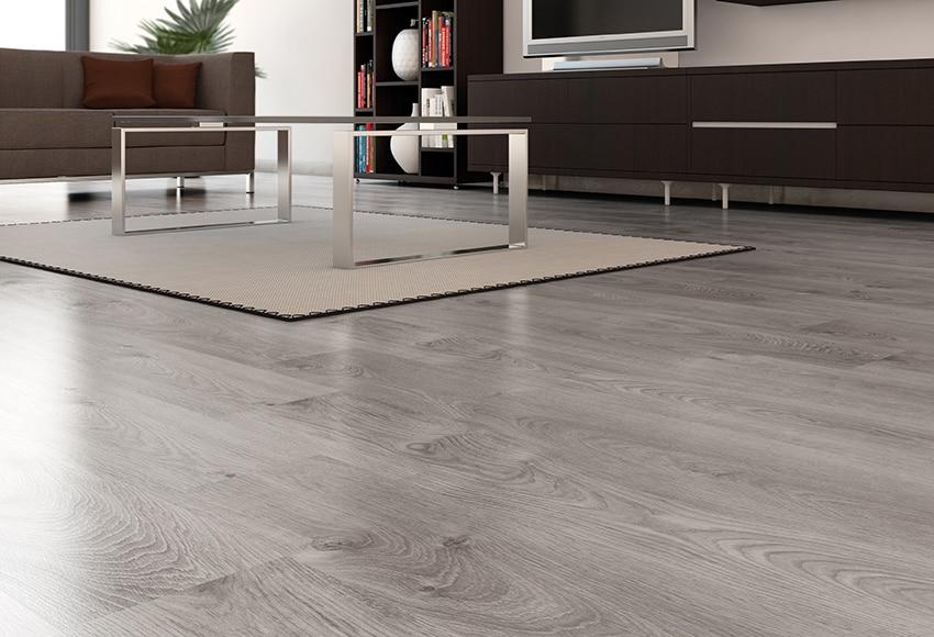 suelo laminado basic gris ac