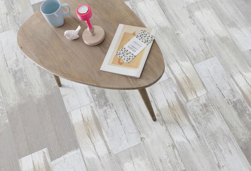 Lama adhesiva 18 4 x 91 4 cm gerflor rustic patchwork grey - Suelo vinilico leroy ...