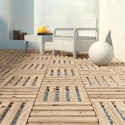 Decorar cuartos con manualidades suelos de madera para - Baldosas exterior leroy merlin ...