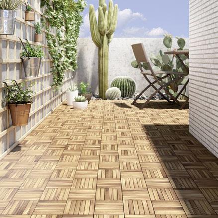 Suelos de madera para exterior leroy merlin - Azulejos de patio ...