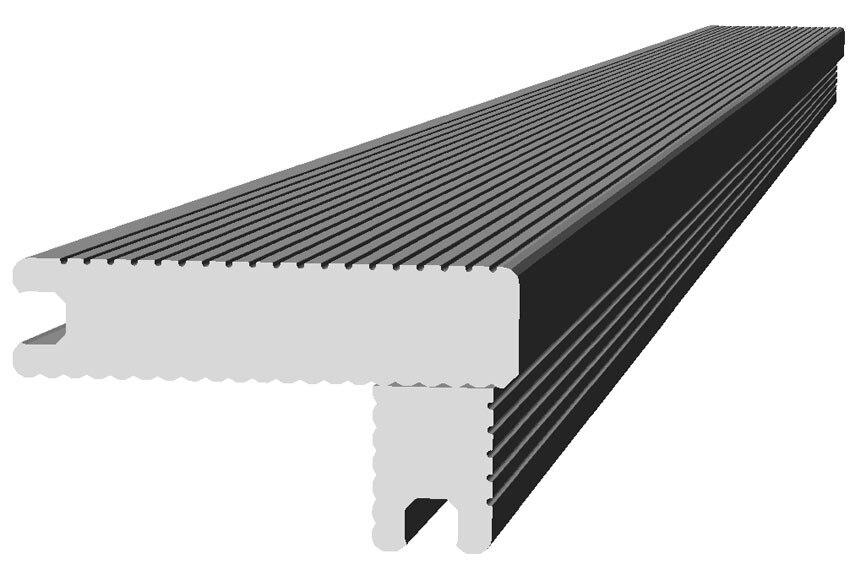 Escal n composite 230cm ceniza ref 18616171 leroy merlin - Suelos de composite ...