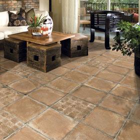 Cer mica para exterior y terraza leroy merlin - Como limpiar suelos de barro ...