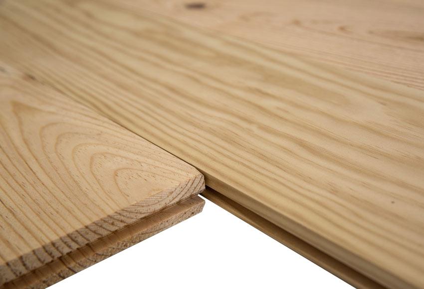 Suelo de madera pino natural nudos ref 12883402 leroy - Suelos de madera leroy merlin ...