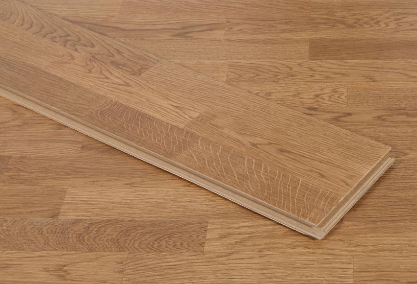 Suelo de madera line esencia caramel ref 17968832 leroy - Suelos de madera leroy merlin ...