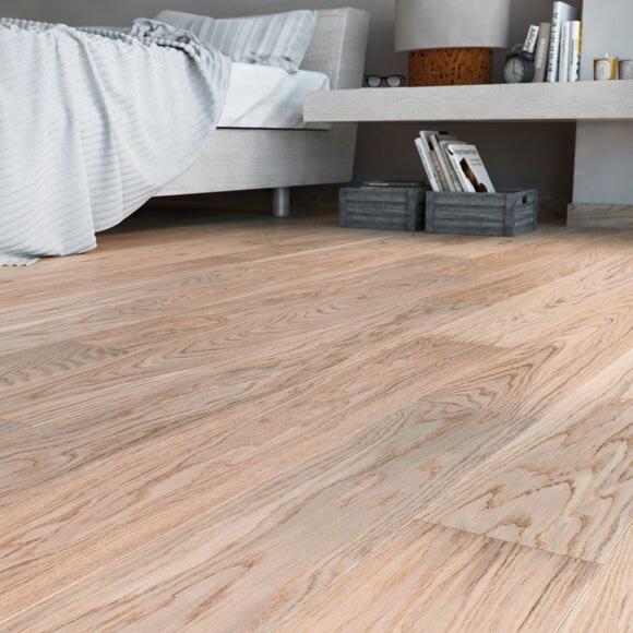 Suelo de madera line roble blanco ref 18043683 leroy merlin - Suelos de roble ...