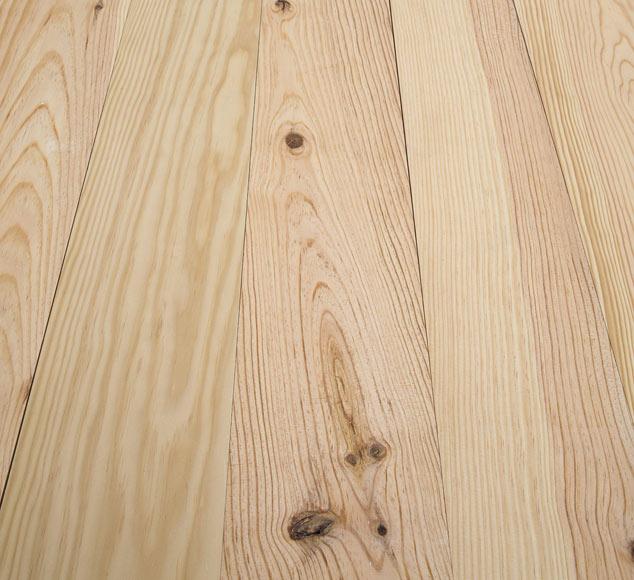 suelo de madera pino natural nudos ampliar imagen
