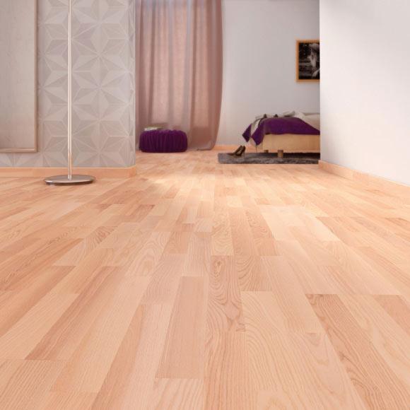 Suelo de madera aero haya ref 14988015 leroy merlin - Tipos de suelos de madera ...
