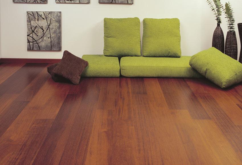 Suelo de madera line merbau selecto ref 17968846 leroy - Suelo de madera ...