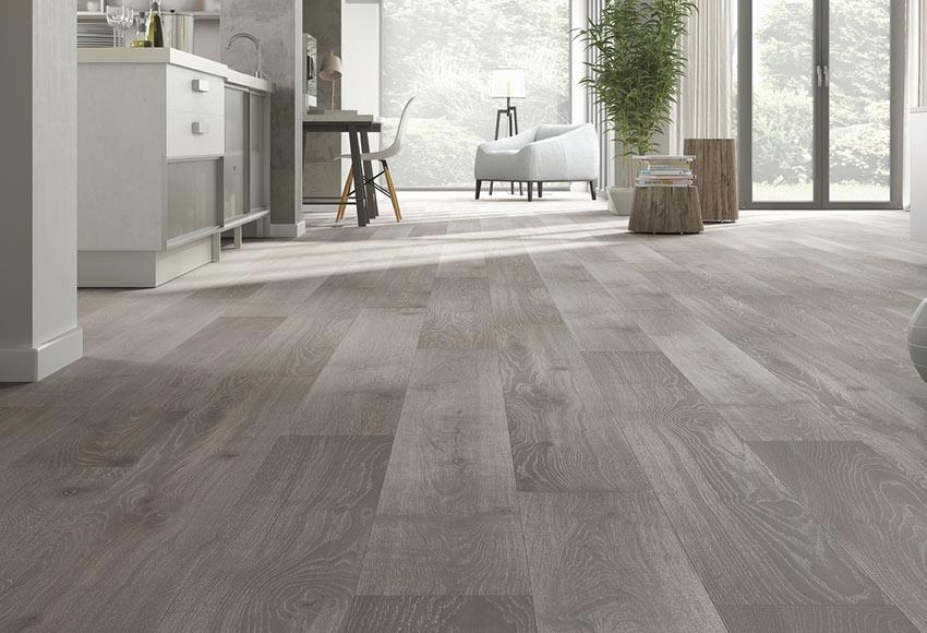 Suelo de madera excellence 145 roble gris claro ref 81876880 leroy merlin - Tarima madera interior ...