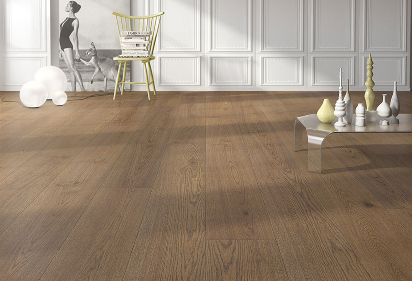 Suelo de madera excellence 250 roble whiskie ref 81876894 - Madera para suelo ...