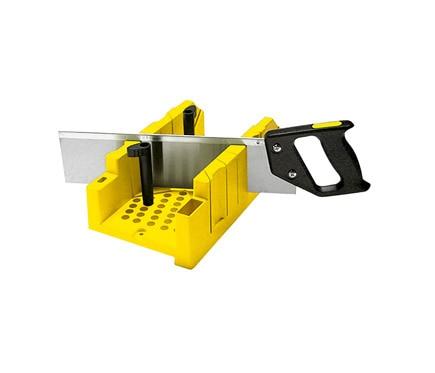 Diy caja de ingletes carpinter a b sica bricolaje - Cajas madera leroy merlin ...