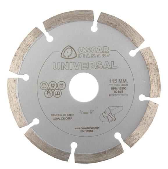 disco para amoladora oscar diamant diamante sinterizado