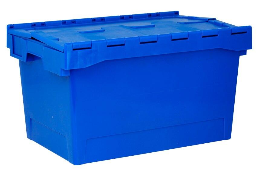 Caja de pl stico tayg euro caja 6434 ref 15199835 leroy for Tejas de plastico leroy merlin