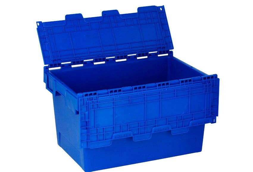 Caja de pl stico tayg euro caja 6434 ref 15199835 leroy for Leroy cajas ordenacion