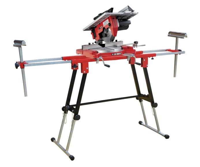 ingletadora con mesa soporte stayer sc265 mesa t100