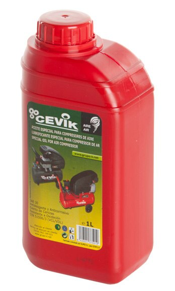 Aceite para compresor cevik ref 13396810 leroy merlin for Aceite para compresor