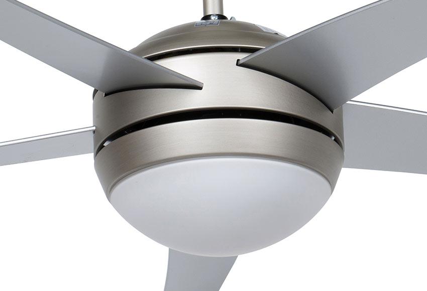 Ventilador de techo con luz inspire ceylan ref 14956550 - Ventiladores leroy merlin ...