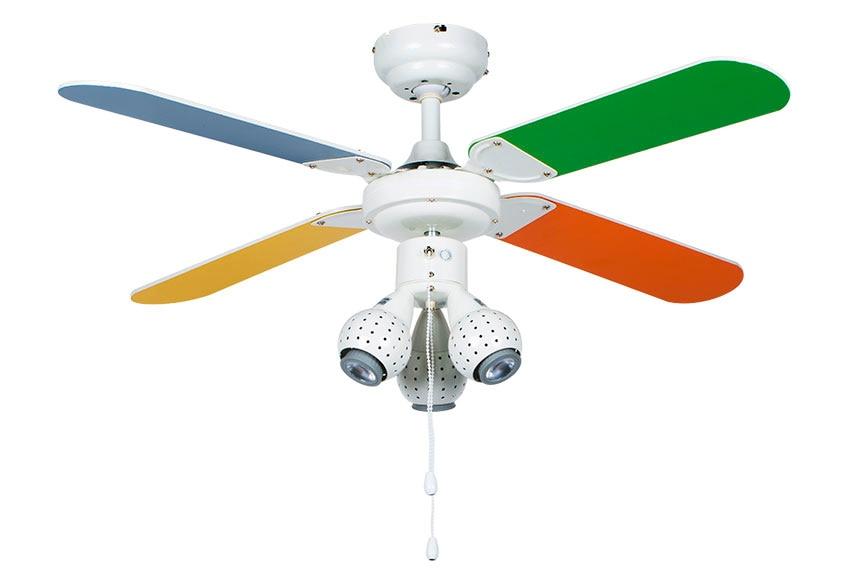 Ventilador de techo con luz inspire odaiba ref 16638650 - Ventilador de techo con luz ...