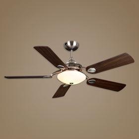 Ventilador de techo con luz inspire lipari idea de techo - Fotos de ventiladores de techo ...