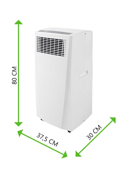 Aire acondicionado port til equation basic 2 ref 14944363 for Aire acondicionado portatil leroy merlin