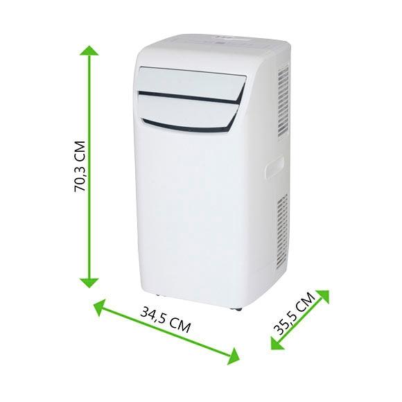 Aire acondicionado port til equation glossy ref 17958304 for Aire acondicionado portatil leroy merlin