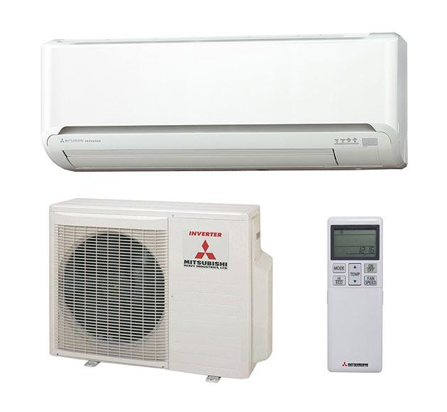Aire acondicionado fijo mitsubishi 1x1 srk zm ref for Aire acondicionado aparato exterior