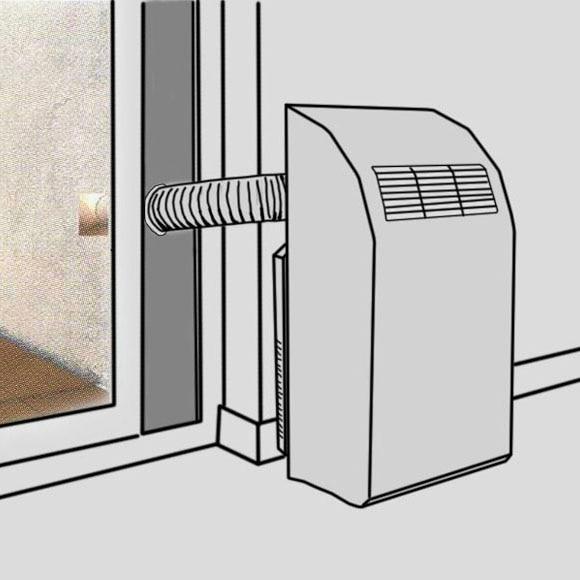 Aire acondicionado portatil como hago un soporte para la for Aire acondicionado portatil leroy merlin