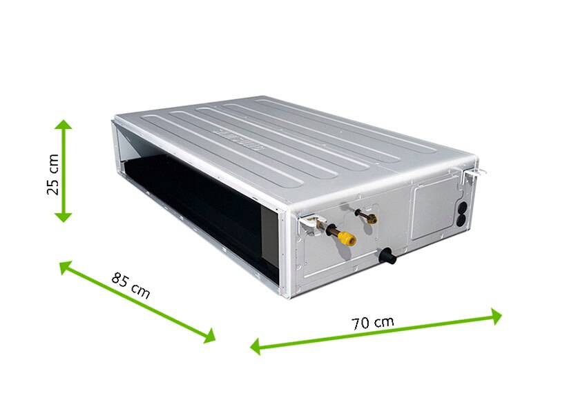 Aire acondicionado por conducto samsung f duct ref for Aire acondicionado 7000 frigorias