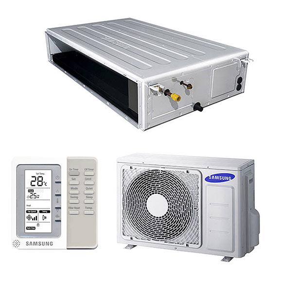 Aire acondicionado por conducto samsung f duct ref for Aire acondicionado por conductos panasonic