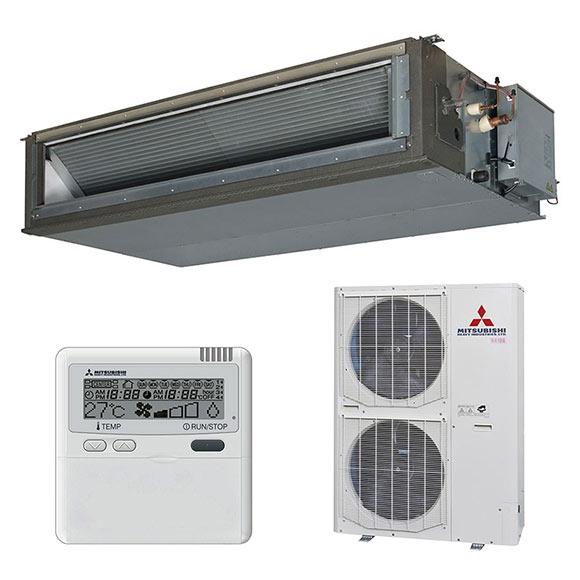 aire acondicionado por conducto mitsubishi fdu vs ref