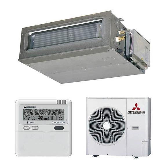 aire acondicionado por conducto mitsubishi fdum vfs micro
