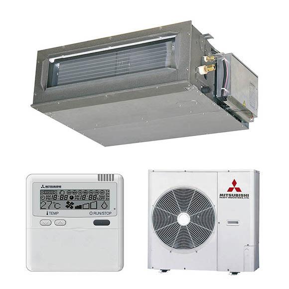 Aire acondicionado por conducto mitsubishi fdum vn ref for Aire acondicionado por conductos panasonic