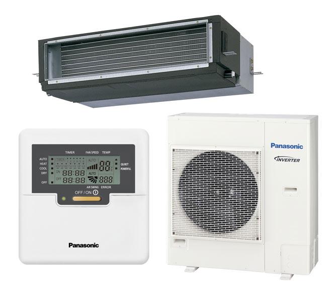 Aire acondicionado por conducto panasonic kit yhdde5 ref for Aire acondicionado por conductos panasonic