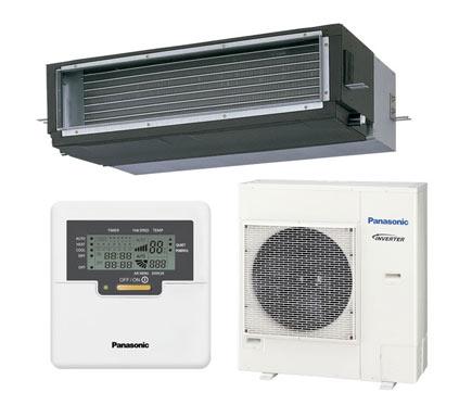 Aire acondicionado por conducto panasonic kit yhdde5 ref for Maquina aire acondicionado por conductos
