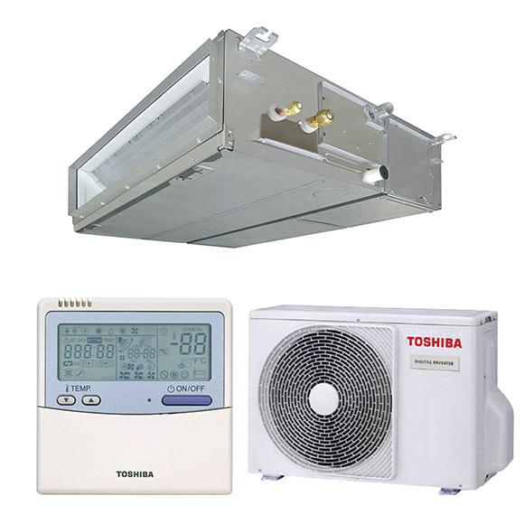 Aire acondicionado por conducto toshiba spa di ref for Aire acondicionado por conductos panasonic