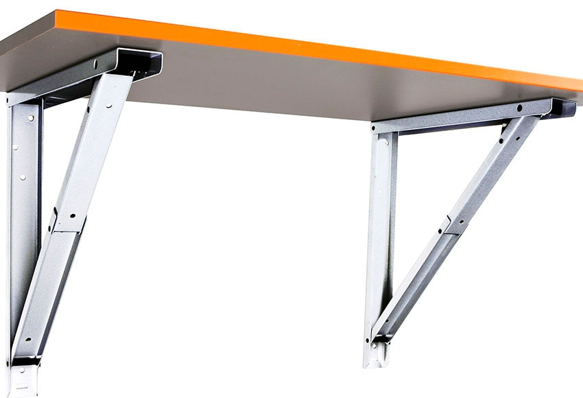 Escuadra abatible m ref 12115810 leroy merlin - Como hacer una mesa abatible ...